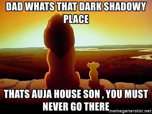 simba mufasa - Dad whats that dark shadowy place Thats Auja house son , you must never go there