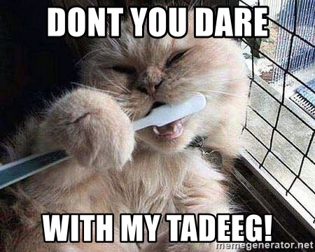 Pussy Brushes  - dont you dare  with my tadeeg!