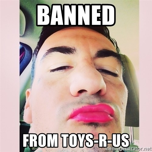 cortez in love - Banned From Toys-r-us