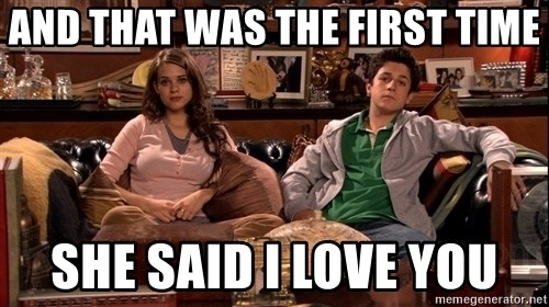 How i met your mother kids - And that was the first time she said I love you
