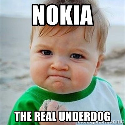 Victory Baby - Nokia the real underdog