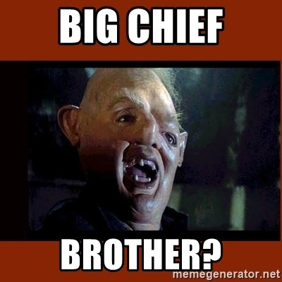 Sloth Goonies  - big chief BROTHER?