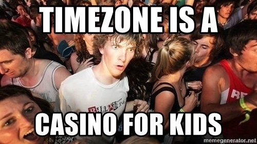 Sudden Realization Ralph - timezone is a  casino for kids