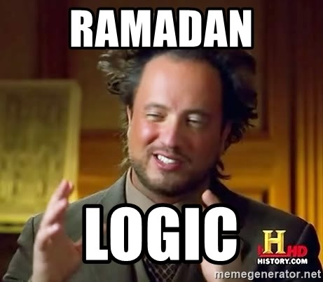 Ancient Aliens - Ramadan  Logic