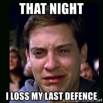 crying peter parker - THAT NIGHT  I LOSS MY LAST DEFENCE