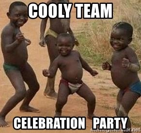 african children dancing - Cooly Team Celebration   Party