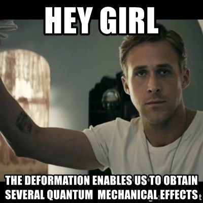 ryan gosling hey girl - hey girl the deformation enables us to obtain several quantum  mechanical effects