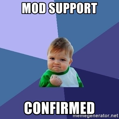 Success Kid - mod support confirmed