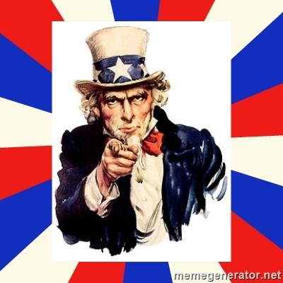 uncle sam i want you -