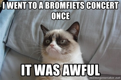 good grumpy cat 2 - I WEnt to a Bromfiets Concert Once It was awful