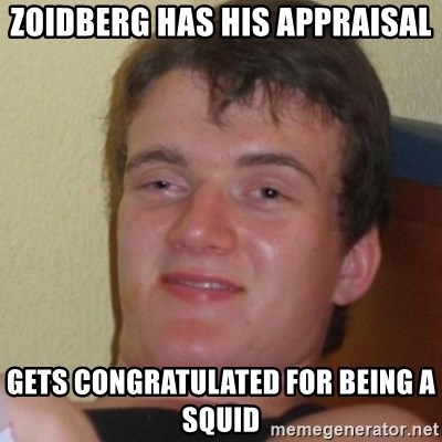 Stoner Stanley - Zoidberg has his appraisal Gets congratulated for being a squid