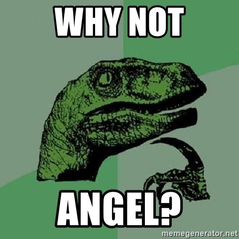 Philosoraptor - why not angel?