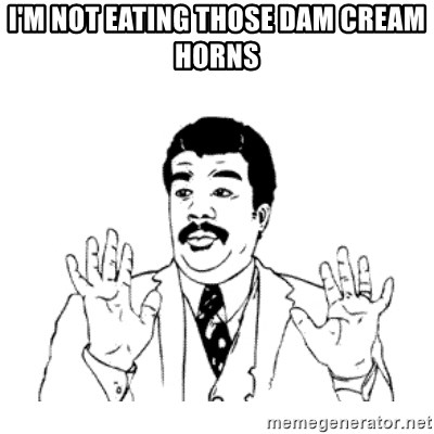 aysi - I'M NOT EATING THOSE DAM CREAM HORNS