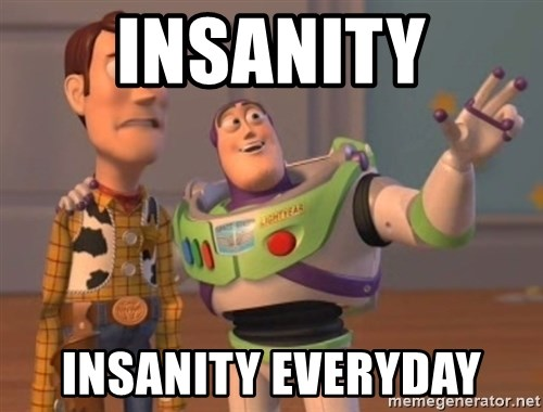 FINALES EVERYWHERE - insanity insanity everyday
