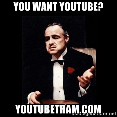 The Godfather - you want youtube? youtubetram.com