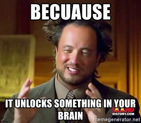 Giorgio A Tsoukalos Hair - Becuause It unlocks something in your brain