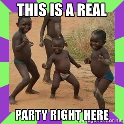 african kids dancing - THIS IS A REAL  PARTY RIGHT HERE