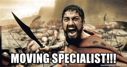 Spartan300 -  Moving specialist!!!