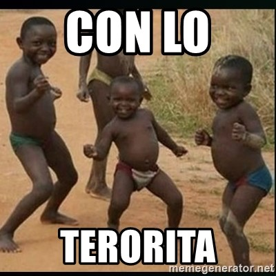 Dancing black kid - CON LO  TERORITA