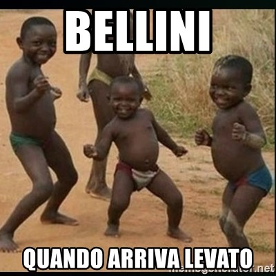 Dancing black kid - BELLINI QUANDO ARRIVA LEVATO