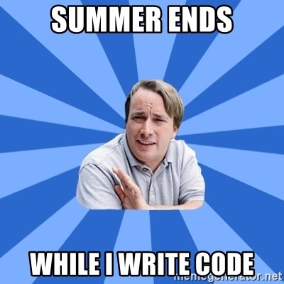 typical_proger - Summer Ends while i write code