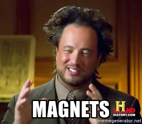 Ancient Aliens -  Magnets