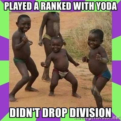 african kids dancing - played a ranked with yoda didn't drop division