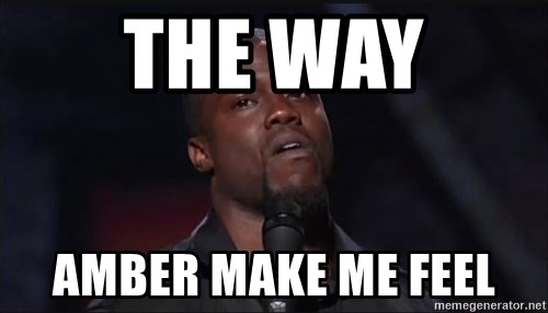 Kevin Hart Face - The Way  Amber Make Me Feel