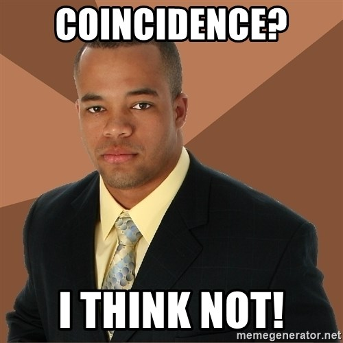 Successful Black Man - COINCIDENCE?  I THINK NOT!