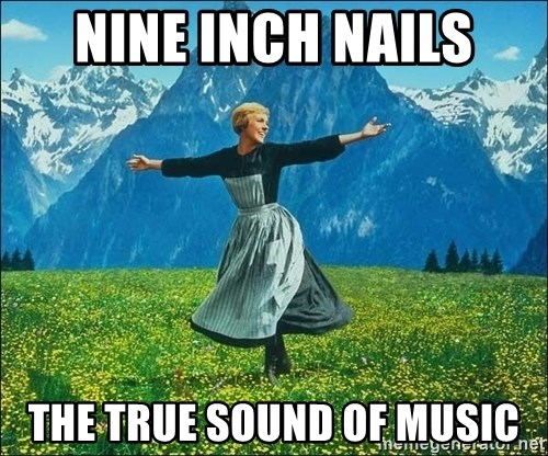 Look at all the things - nine inch nails the true sound of music