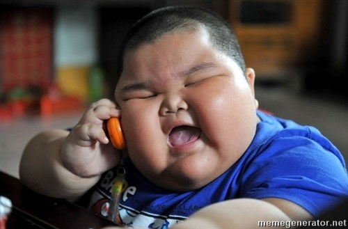 Fat Asian Kid -