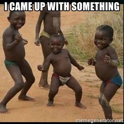 Dancing black kid - I CAME UP WITH SOMETHING