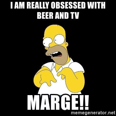 look-marge - I AM REALLY OBSESSED WITH BEER AND TV  MARGE!!