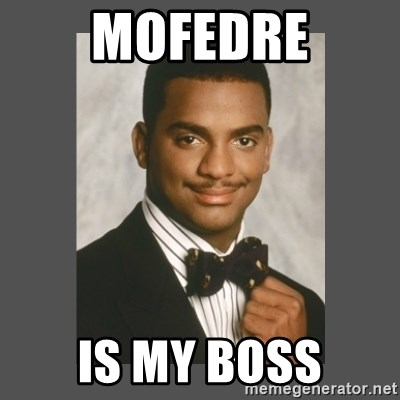 SWAG - mofedre is my boss