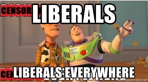 Toy Story Everywhere - LIBERALS LIBERALS EVERYWHERE