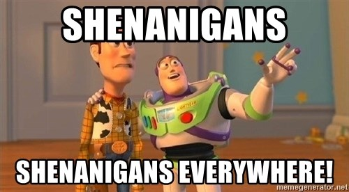Consequences Toy Story - Shenanigans Shenanigans everywhere!