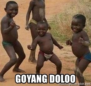 african children dancing -  goyang doloo