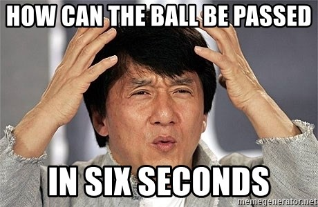 Jackie Chan - How can the Ball be passed In six seconds