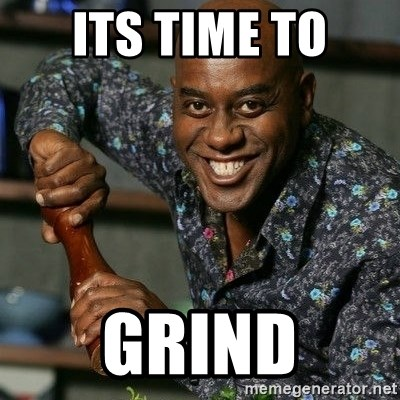 Ainsley Harriot - its time to grind