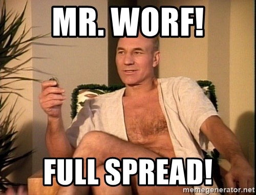 Sexual Picard - Mr. Worf! full spread!