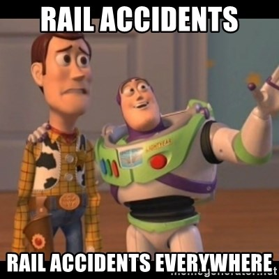 X, X Everywhere  - Rail Accidents Rail Accidents Everywhere