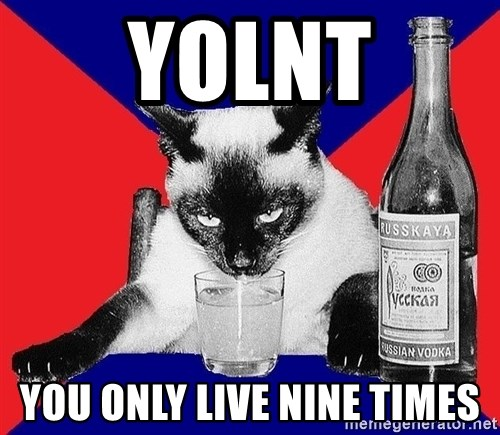Alco-cat - YOLNT You only live nine times