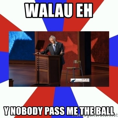 Invisible Obama - WALAU EH Y NOBODY PASS ME THE BALL