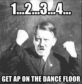 Disco Hitler - 1...2...3...4... get ap on the dance floor