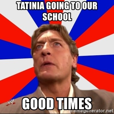 Regal Remembers - TATINIA GOING TO OUR SCHOOL GOOD TIMES