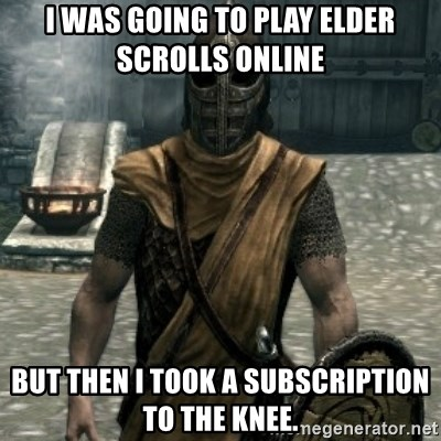 skyrim whiterun guard - I was going to play Elder Scrolls online But then I took a subscription to the knee.