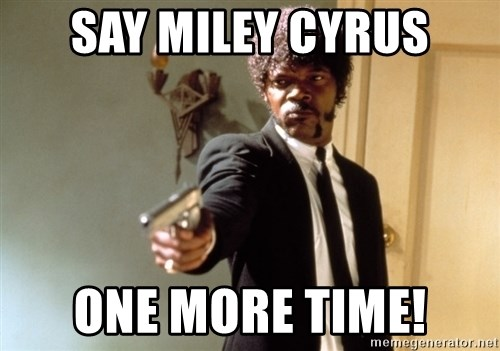 Samuel L Jackson - SAY MILEY CYRUS ONE MORE TIME!
