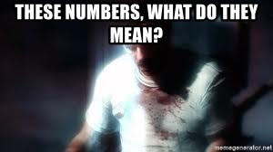Mason the numbers???? - These numbers, what do they mean?