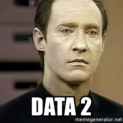 Star Trek Data -  data 2