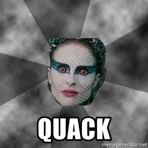 Black Swan Eyes -  Quack